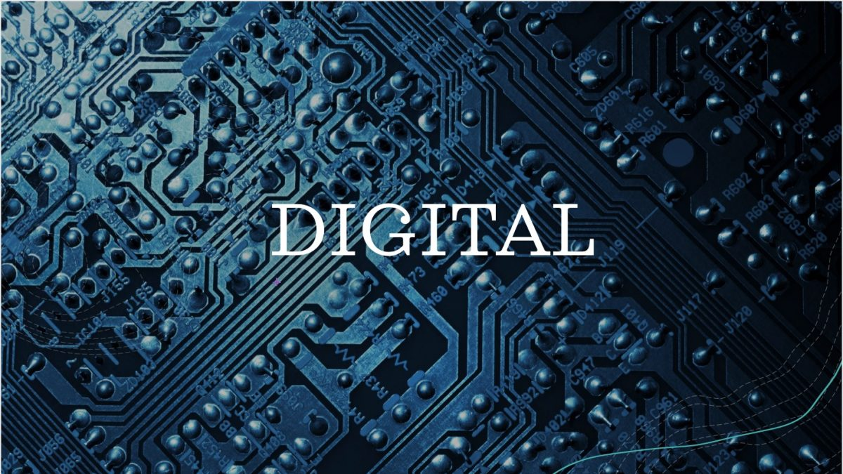 Digital on a circuit board
